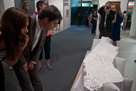 Yutaka Sone, Little Manhattan (2007-2009) at David Zwirner Gallery, Art Basel 2011.