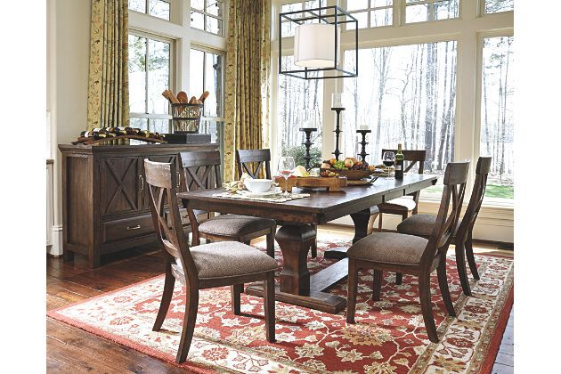The Windville Dining Room Extension Table Brings Home Modern
