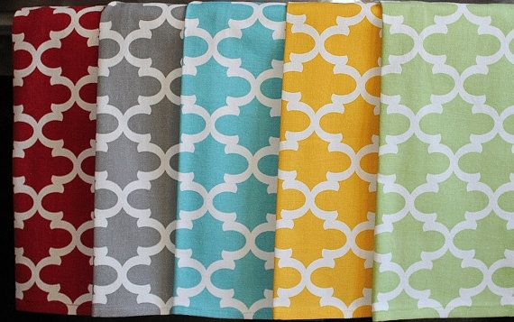 Quatrefoil Kitchen  or Hand Towels in Various by DesignsByThem