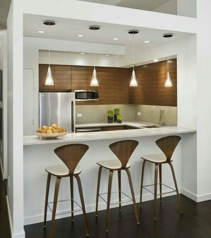 Contemporary Kitchen Design For Small Spaces Inspiration Tipo De Cocina  Tipo De Cocina  Pinterest Review