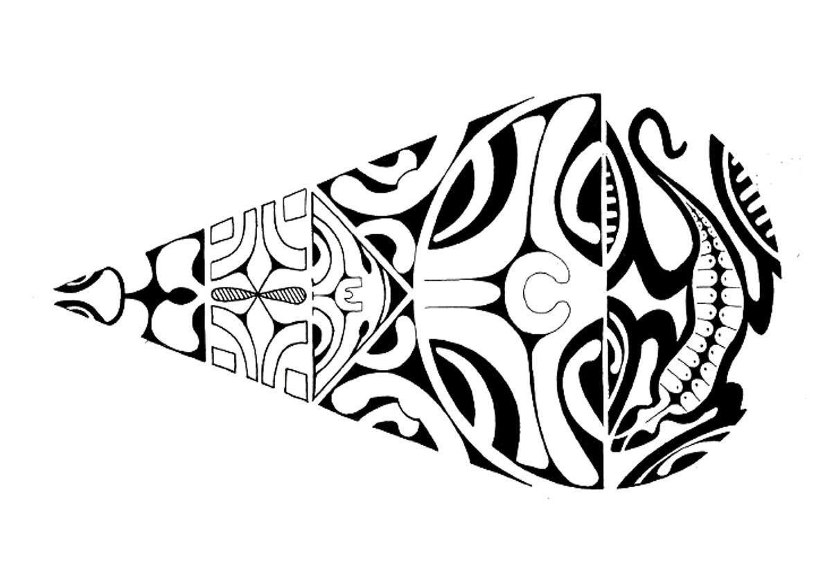 Tattoo Flash Maori: Polynesian Tattoo Flash