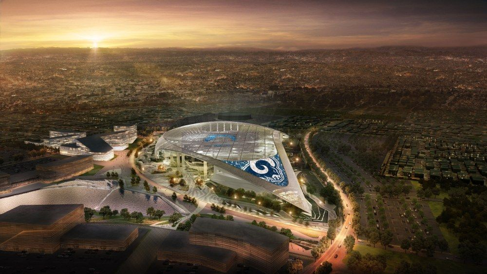 American Airlines First Sponsor For Rams Chargers Stadium In 2020 Los Angeles Rams Stadium Los Angeles