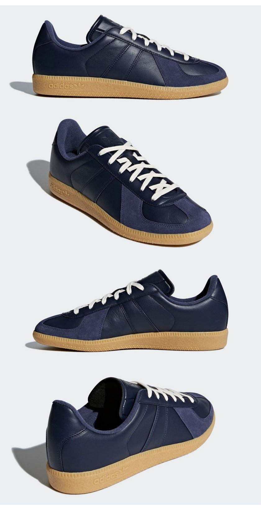 c8c90388f16acf ADDIDAS BW Army Shoes Navy Gum