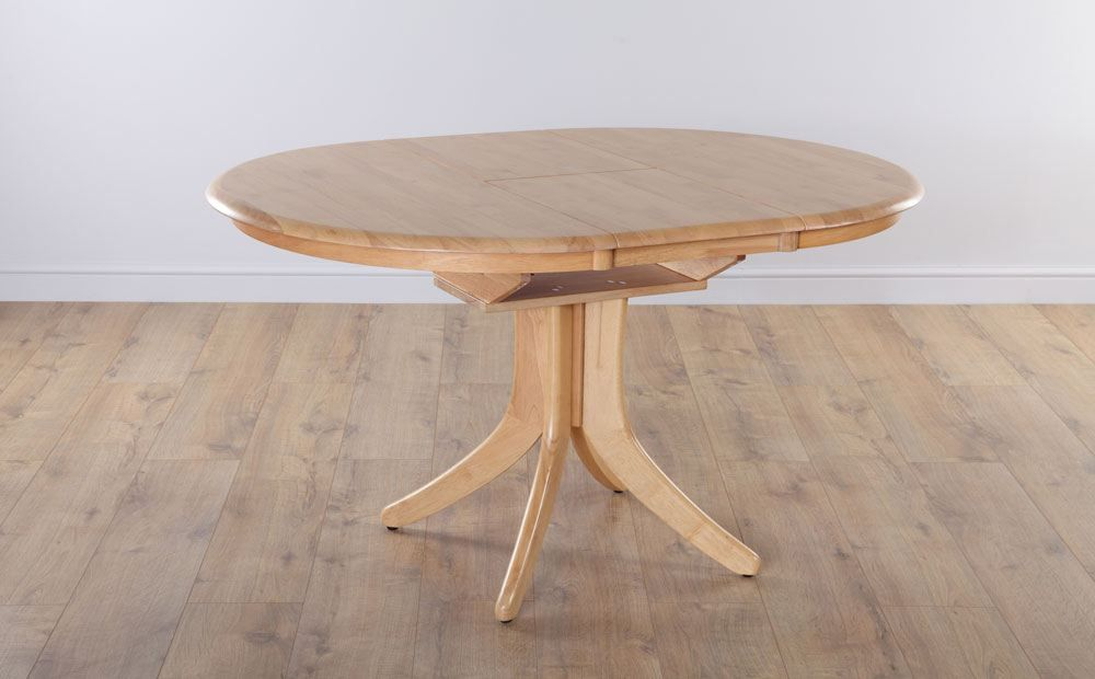 Hudson Round Extending Dining Room Table 90 120 Light Only 199 99 Furniture Choice Extendable Dining Table Oak Dining Room Table Dining Table