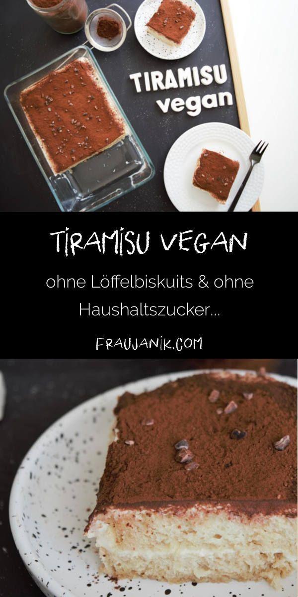 Tiramisu vegan #löffelbiskuitrezept