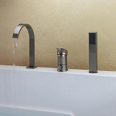 Badewannenarmaturen  Badewannenarmaturen - Messing - Zeitgenössisch - Wasserfall ...