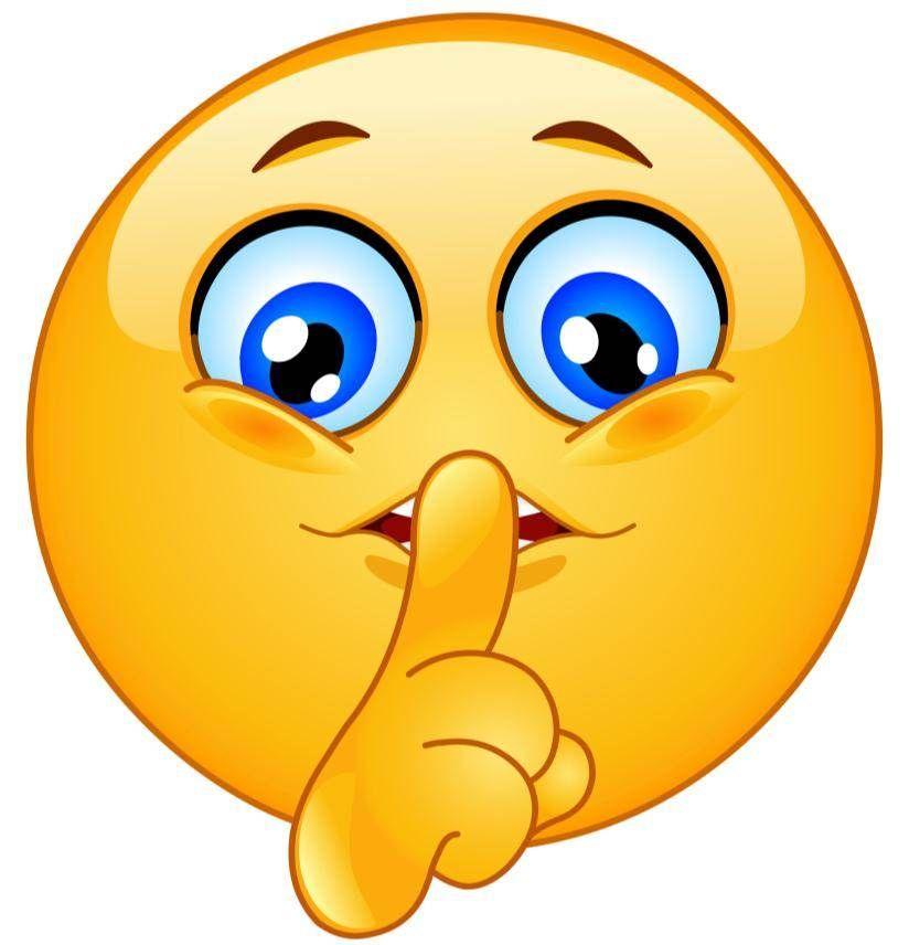 Image result for shh emoji