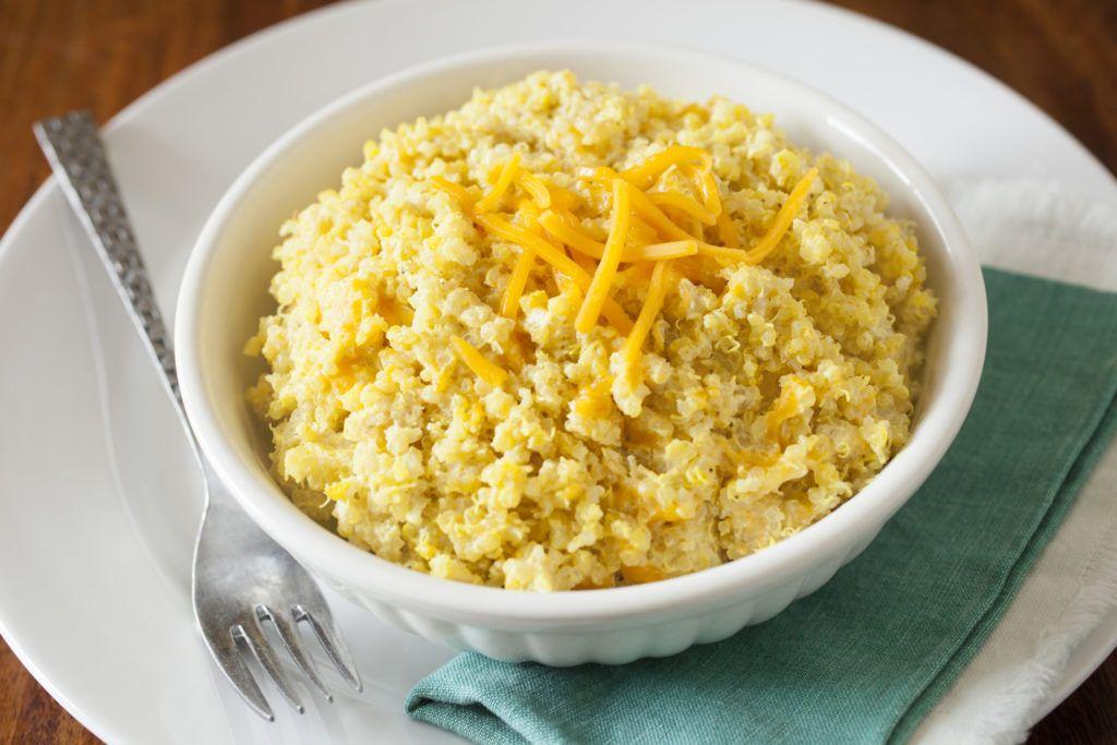 Cheesy quinoa dukes mayonnaise recipe cooking