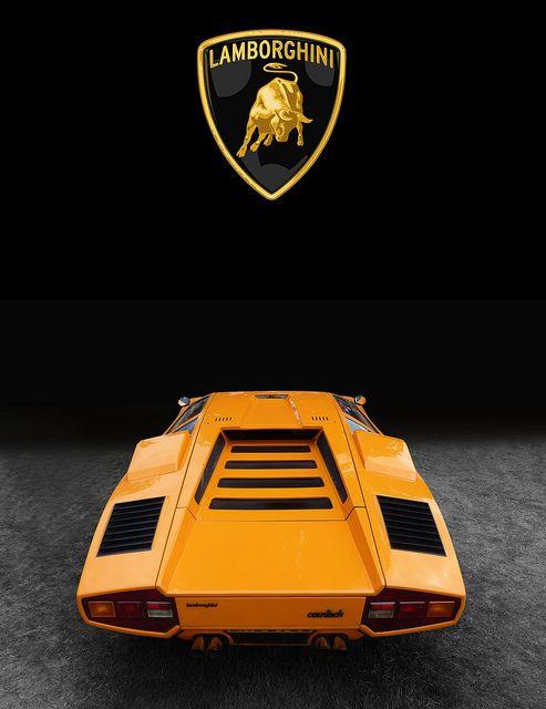 Lamborghini Countach LP400 - 1977 by Gordon Calder, via Flickr