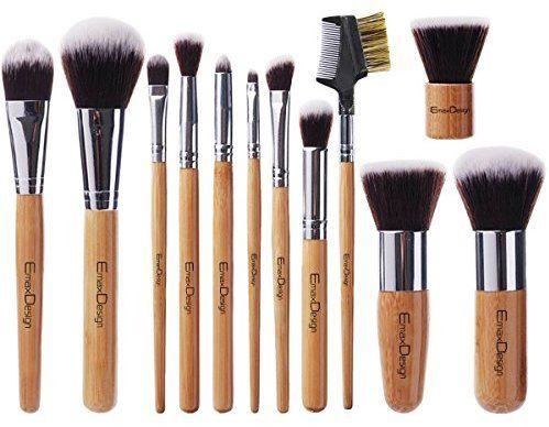 amazon emaxdesign 12 pieces makeup brush set