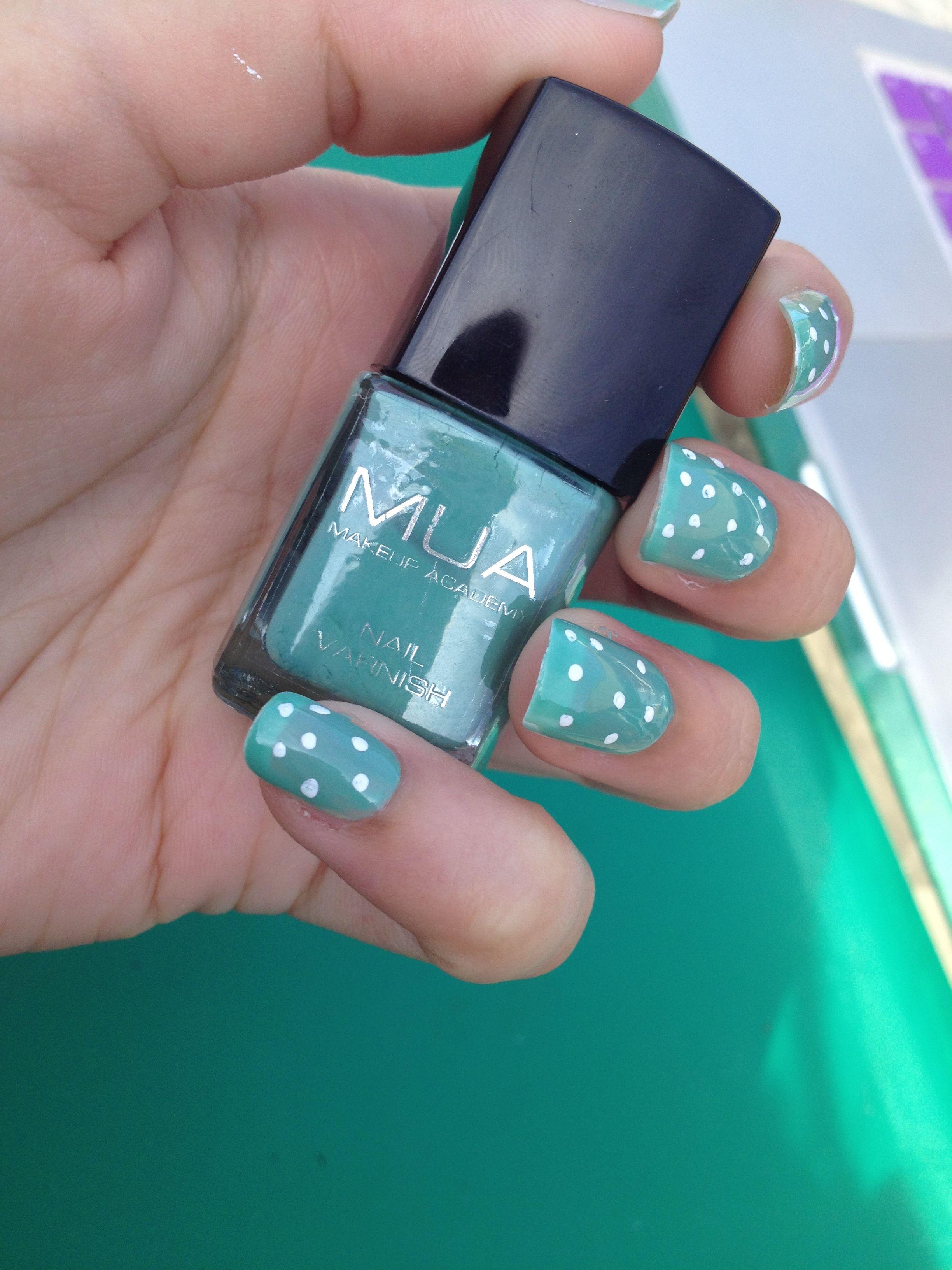 Polka dots Nail Art Nail Art Trends Tutorial Polkanails 2013 Kate ...