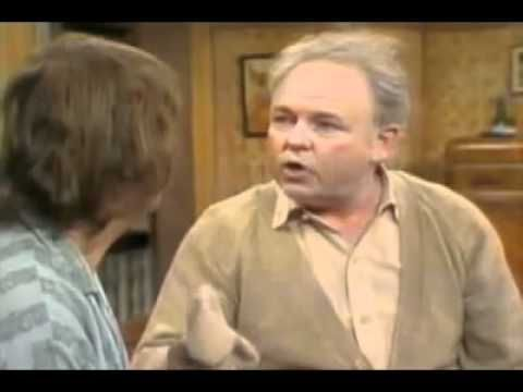 ALL IN THE FAMILY - ARCHIE MEETS SAMMY DAVIS JR.   Old