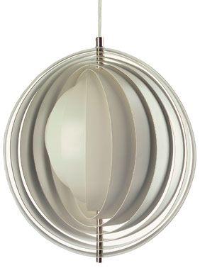 Moon Lamp pendant lamp by Verner Panton  #Danish Design #Scandinavian Design #  Lighting