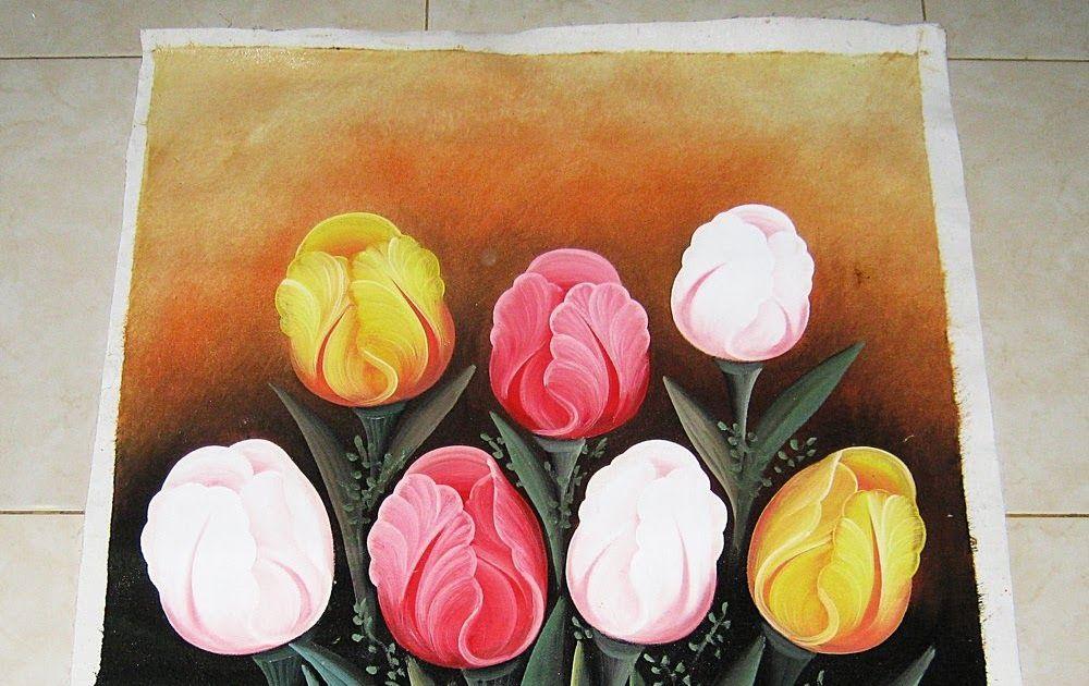 Fantastis 13 Gambar Lukisan Bunga Untuk Pemula Sketsa Bunga Lukisan Kanvas Bunga Tulip Lukisan 3d Pensil Melukis Menggunakan Pens Bunga Gambar Lukisan Bunga
