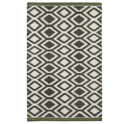 Kaleen Nomad Zig Zag 8 X 10 Area Rug In Grey Products Area