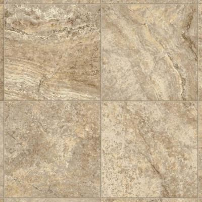 Armstrong 12 Ft Wide Bristol Travertine Manor Creme Vinyl Sheet Flooring G3310401 The Home Depo Vinyl Sheet Flooring Armstrong Vinyl Flooring Vinyl Flooring