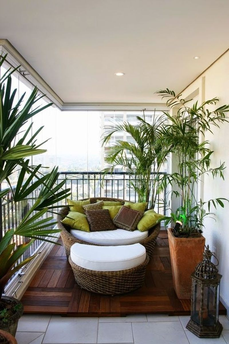 12 Outdoor Decoration - Inspiring Ideas of Modern Terraces #smallbalconyfurniture