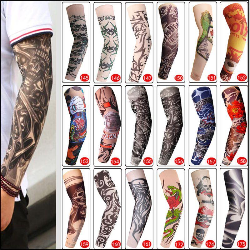 0.80 Temporary Fake Tattoo Sleeve Men Women Arm Warmer