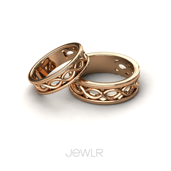 Diadem Infinity Women's Ring | Couples' Rings by Jewlr ...