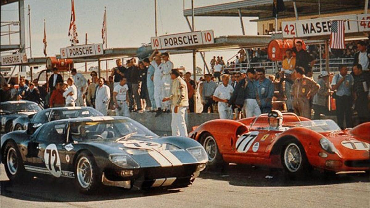 The Toughest Rivalry In Le Mans Ford Vs Ferrari Racing Ford