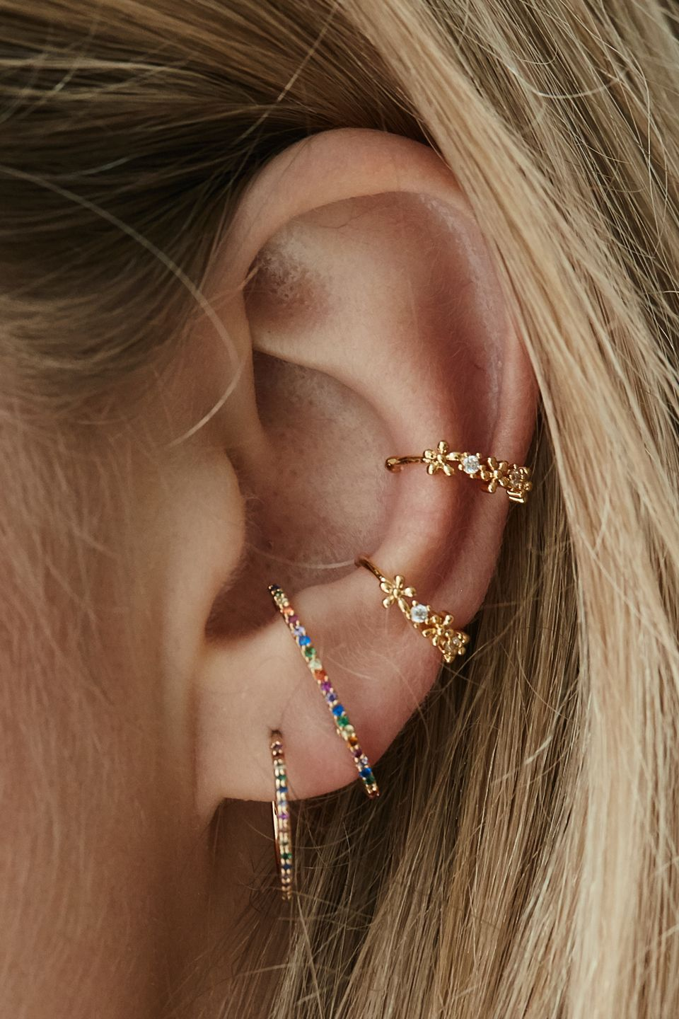 e55d36d3a Rue Gembon Roche Gold Earcuff Set | Curated Ears in 2019 | Jewelry ...