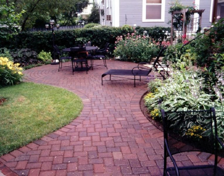 Patio Paver Design Ideas which patio to install in your durango colorado landscaping patio paver design ideas Find This Pin And More On New House Ideas Brick Paver Patio With A Victorian Pattern