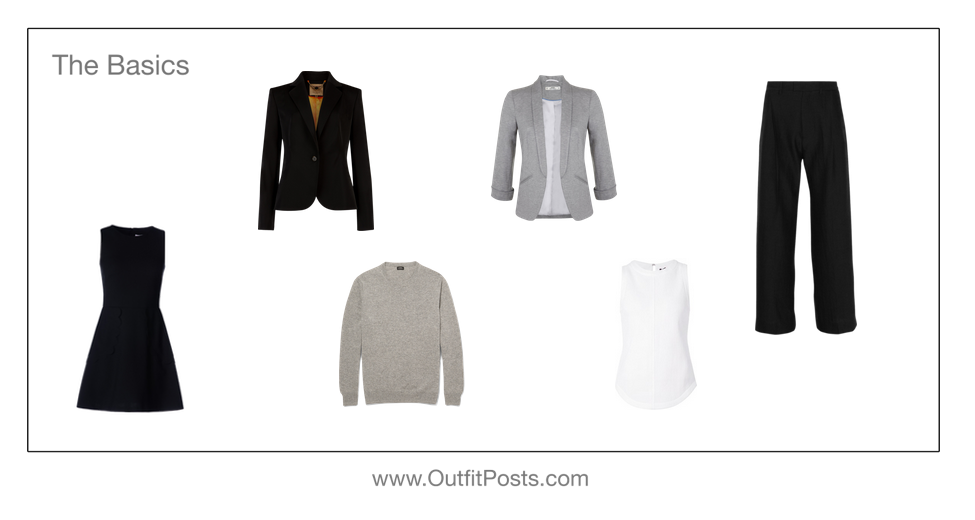 ba646eac840 outfit post  fall winter business casual capsule wardrobe – 14 pieces