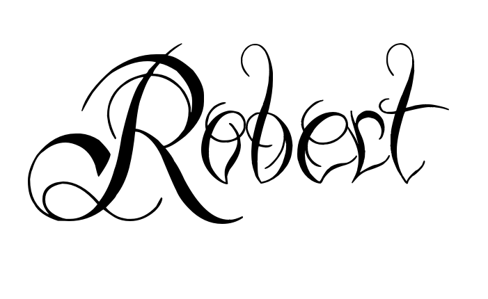 Tattoo Name Robert Using The Font Style Ready Black Name Tattoos Name Creator Create Your Own Tattoo