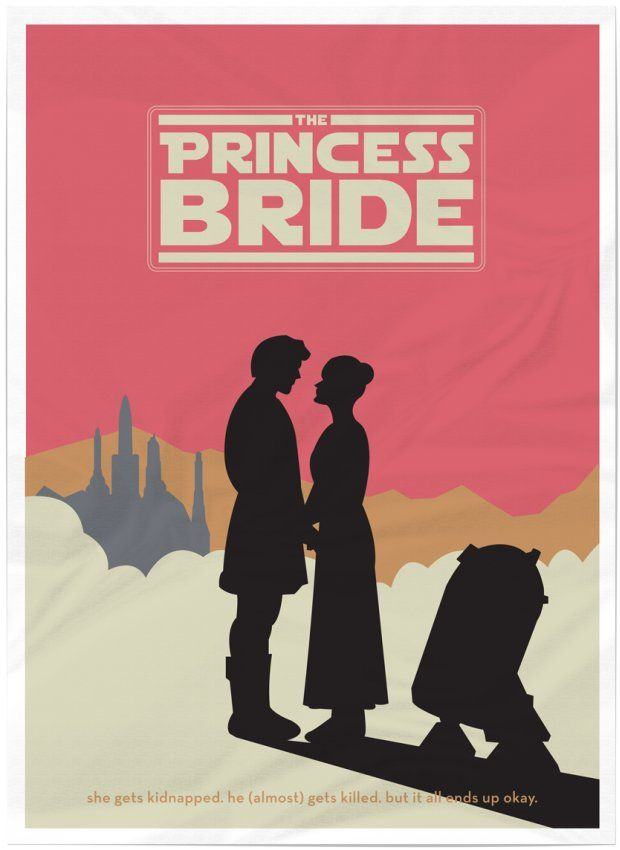 Rather awesome star wars/classic blockbuster mashup movie posters by Australian artist Matt Ranzetta.