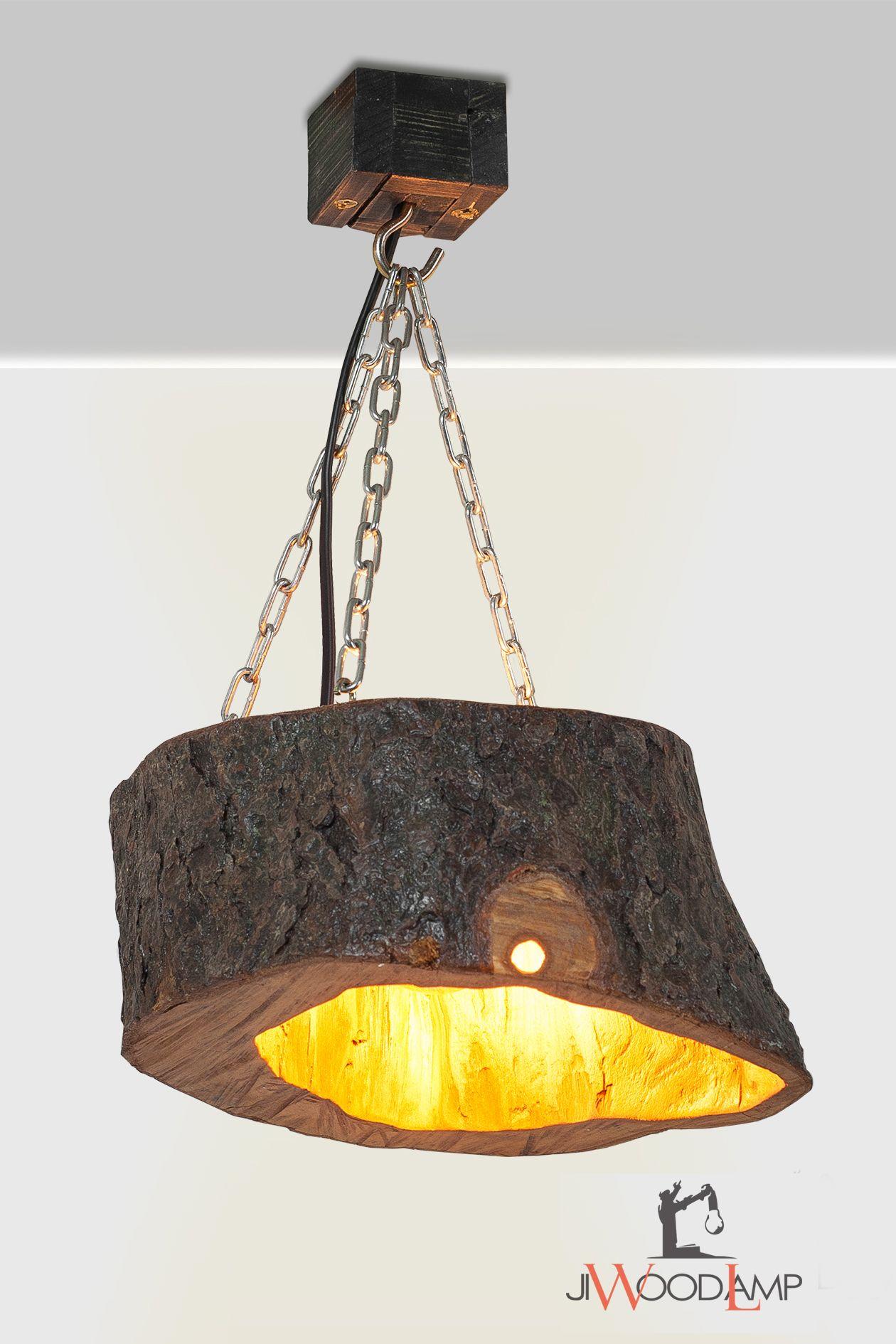 Slice Wood Pendant Light Wood Pendant Lamp Ceiling Fixture Rustic Hanging Lamp Kitchen Lamp Reclaimed Wood Lamp Farm House Lighting Wood Pendant Light Wood Lamps Wooden Pendant Lamp