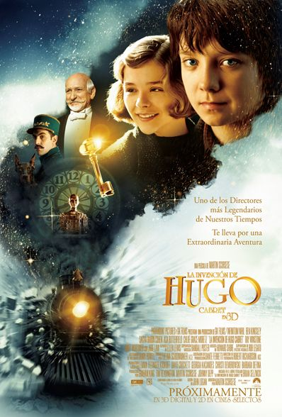Hugo Cabret, such a fantastic movie in every possible way !