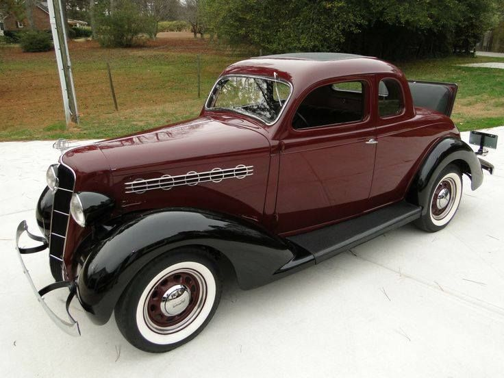 1935 plymouth coupe with rumble seat vehicles chrysler for 1935 plymouth 2 door sedan