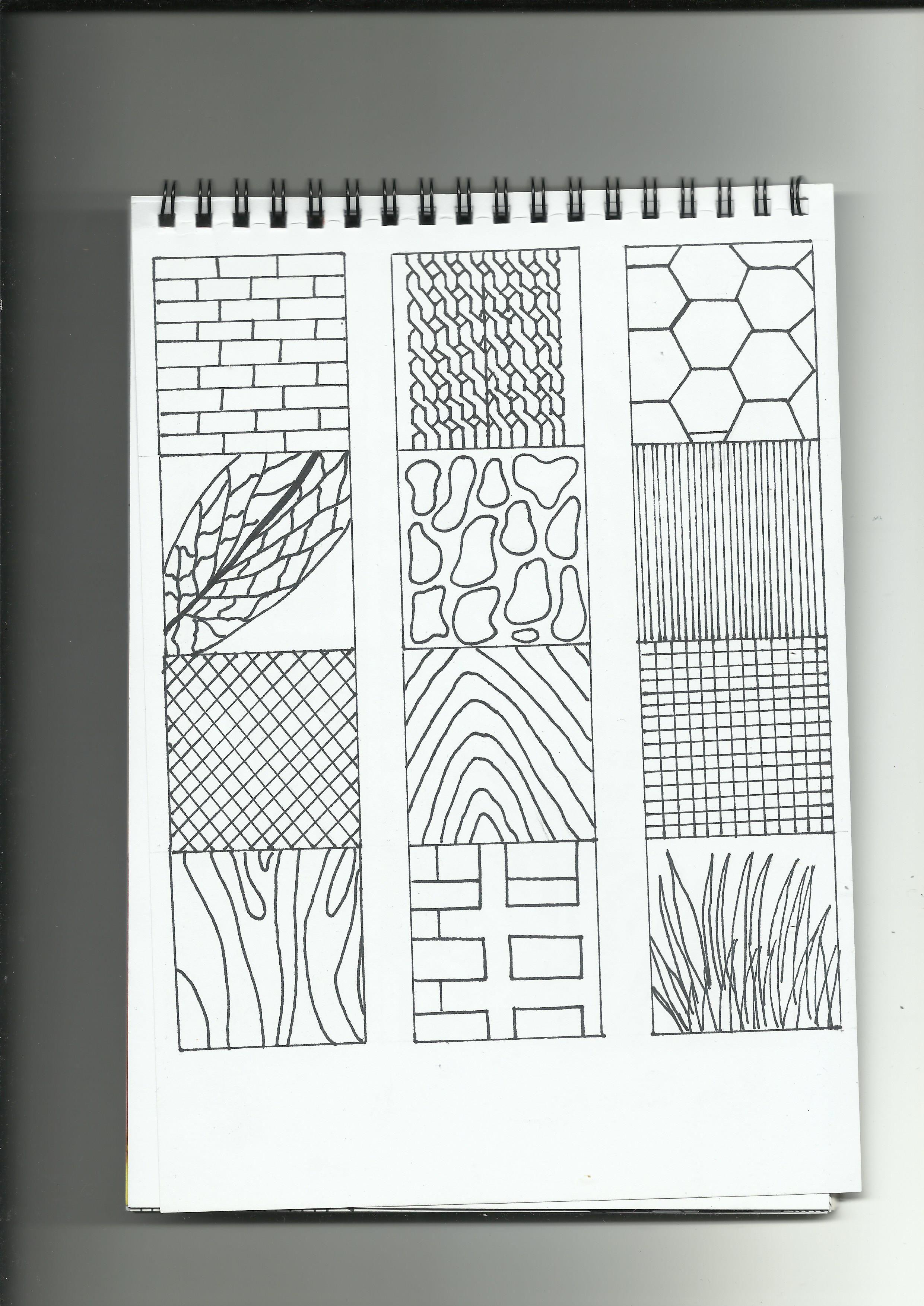 Texturas naturales.