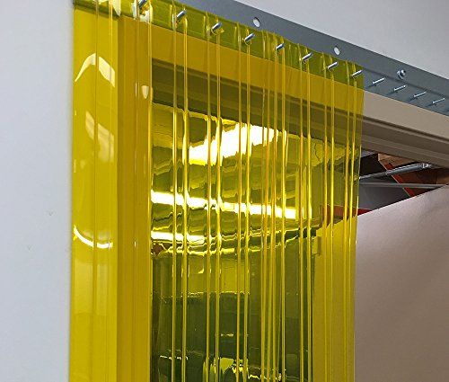 Strip Curtains Com Strip Door Curtain Anti Insect Yellow For