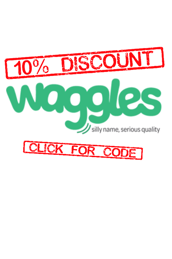 10 Discount Waggles! code;; WAGTEN Expires 12/01/2020