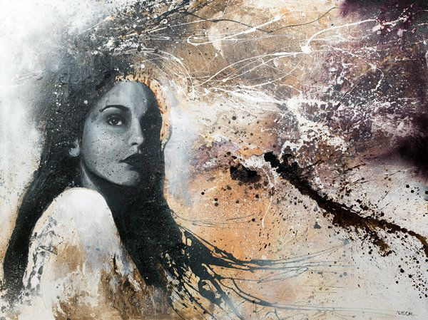 """""""Something In My Soul"""" by MatteoCattonar #modern #painting"""