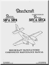 beechcraft baron 58 p pa and tc tca aircraft component rh pinterest com component maintenance manual cmm component maintenance manual cmm