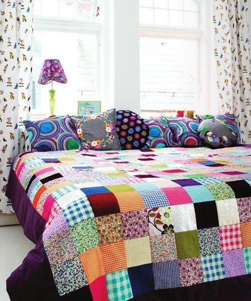 arquitetura ene colchas de patchwork ou quilt