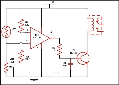 Relays Electronic Circuits And Diagramelectronics Projects And