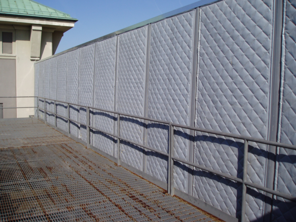 Exterior Acoustical Blankets Sound Proofing Exterior Outdoor