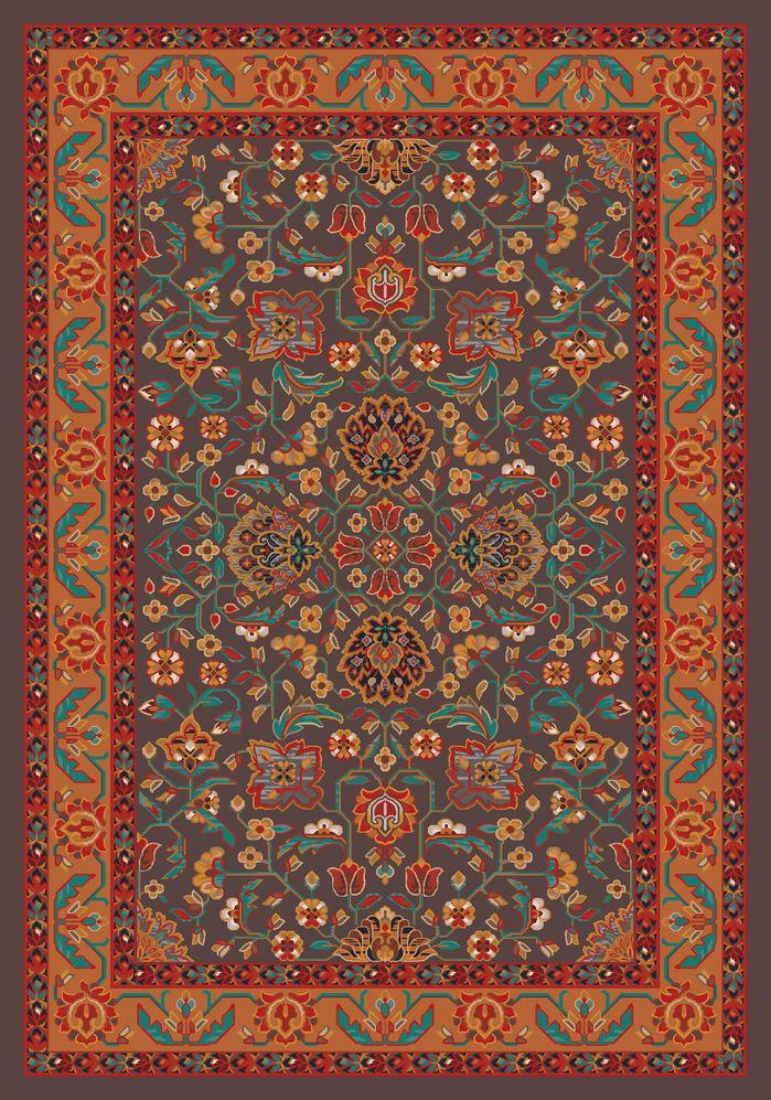 Pastiche Abadan Tin Roof Grey Rug