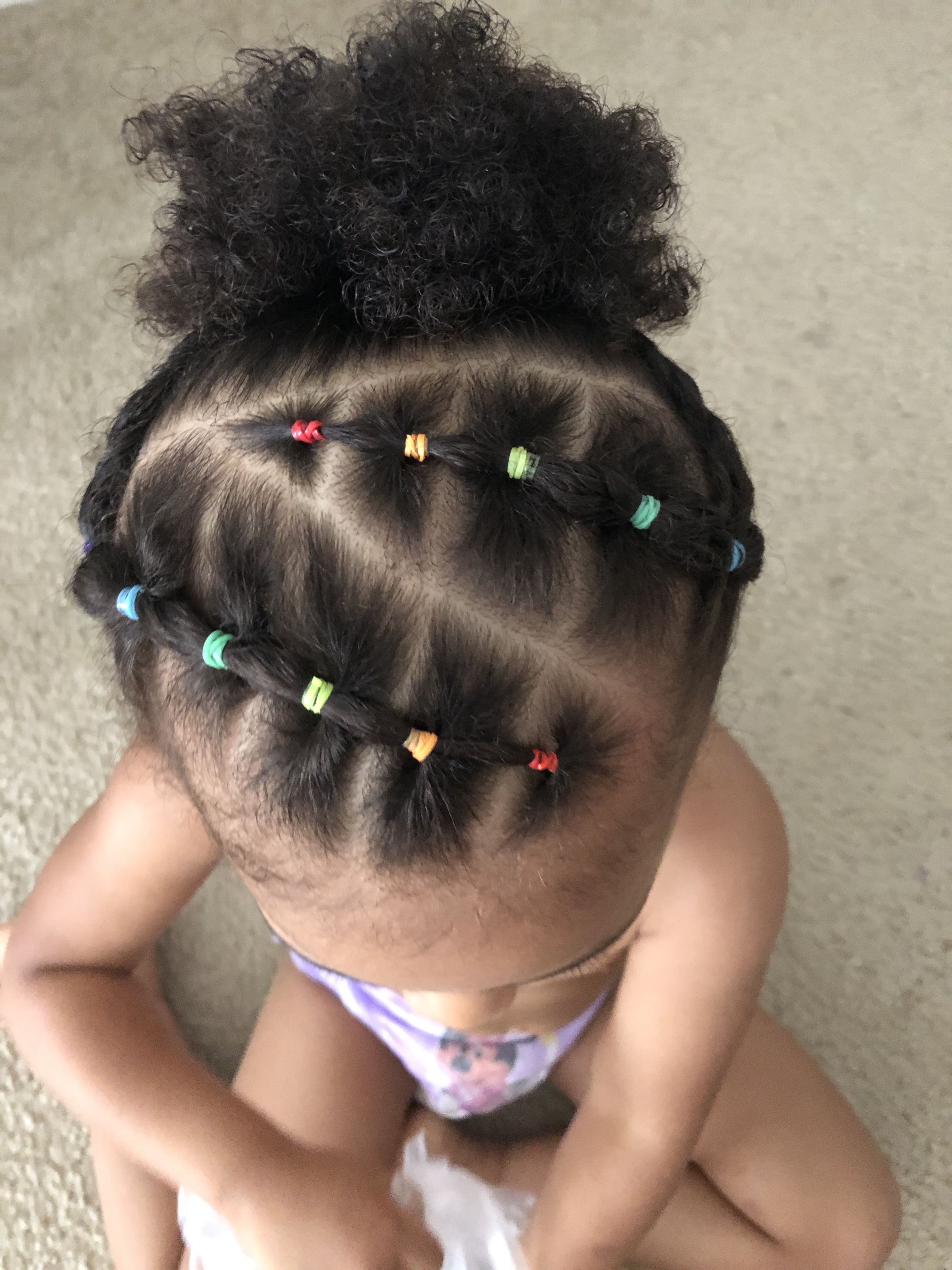 Rainbow Hair Baby Girl Hairstyles Hair Styles Mixed Girl Hairstyles