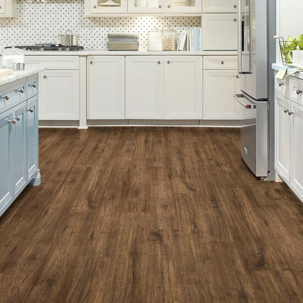 Lifeproof Eir Hillcrest Oak 12 Mm Thick X 7 48 In Wide X 47 72 In Length Laminate Floori Waterproof Laminate Flooring Oak Laminate Flooring Laminate Flooring