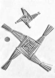 Photo of St. Brigid's Cross – Ungewöhnliches Tattoo-Design – Ich liebe es! theemeraldisle.org/ – St B …
