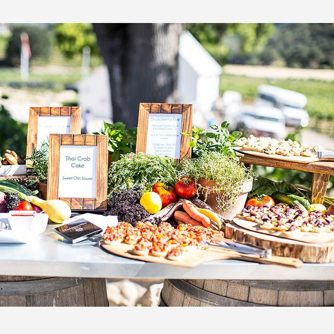 Beach Wedding Food Ideas: Wedding Food Bars, Wedding Reception