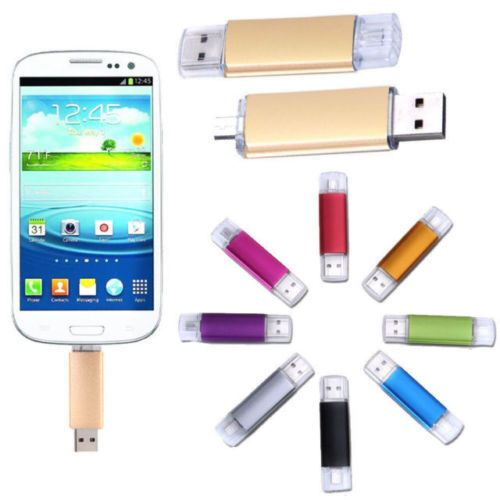 2TB USB OTG FLASH DRIVE 2.0 Micro Android Smart Phone Tablet PC Memory Stick