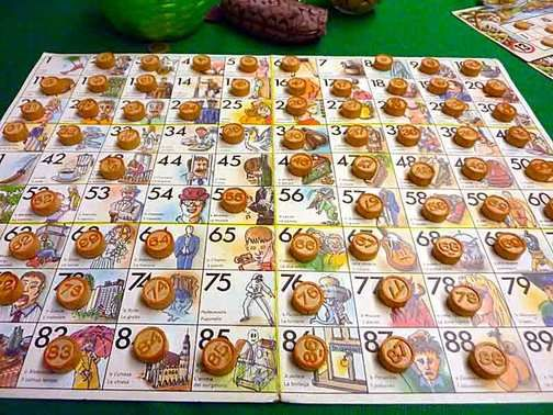 Games Italians Play For Christmas Tombola Italy Tombola Bingo
