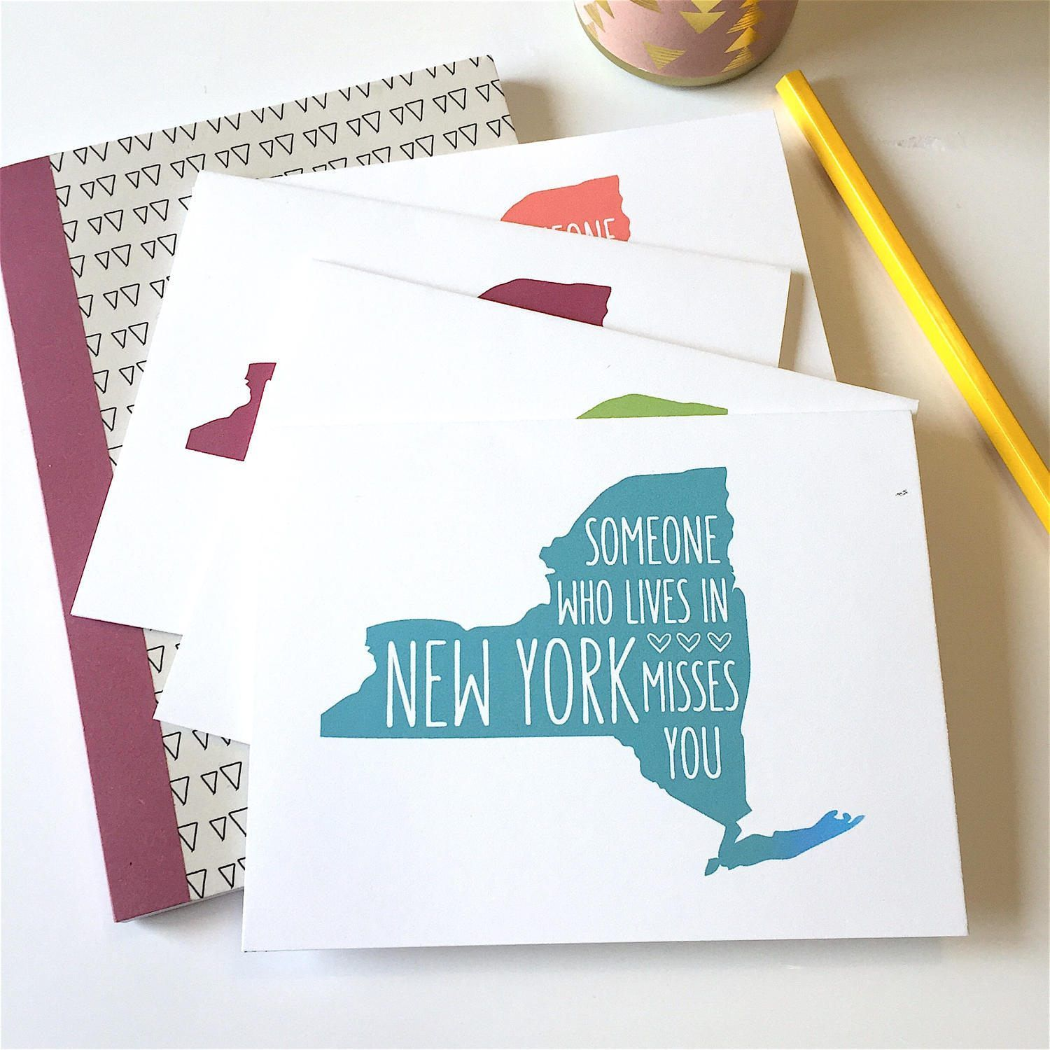 New York Card New York Gift New York City New York Artwork New