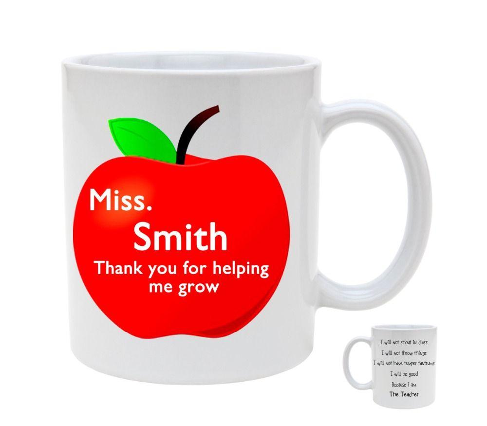Personalized Name Teacher Mugs Tea Mug Milk Cup Wine Beer Cups Friend Gifts Home Decal Mug Funny Coffee Cups Funny Coffee Cups Wine And Beer Beer Cup