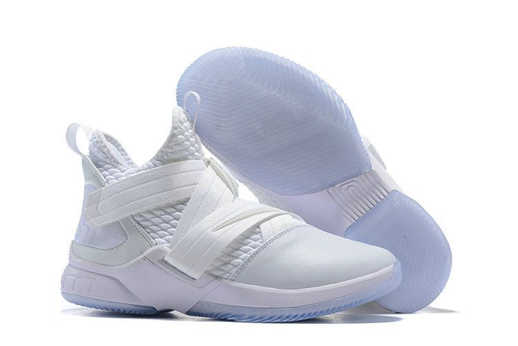 timeless design a0100 bd9f0 Cheap Nike Lebron Soldier 12 XIII Triple White